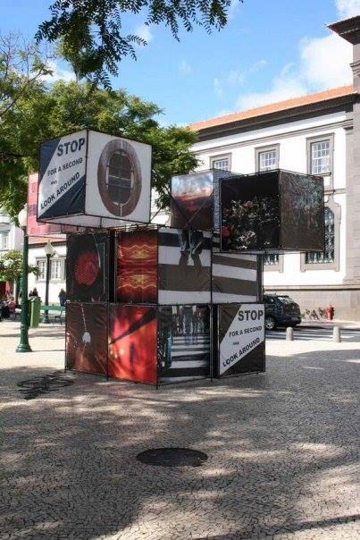 Instalação Visões - Stop de Filipa Jasmins Freitas